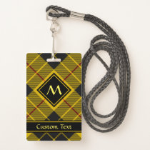 Clan Macleod of Lewis Tartan Badge