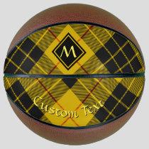Clan Macleod of Lewis Tartan Basketball