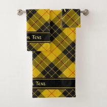 Clan Macleod of Lewis Tartan Bath Towel Set