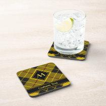 Clan Macleod of Lewis Tartan Beverage Coaster