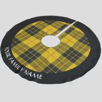 Clan Macleod of Lewis Tartan Brushed Polyester Tree Skirt