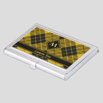 Clan Macleod of Lewis Tartan Business Card Case
