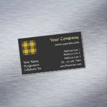 Clan Macleod of Lewis Tartan Business Card Magnet