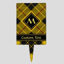 Clan Macleod of Lewis Tartan Cake Topper
