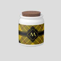 Clan Macleod of Lewis Tartan Candy Jar