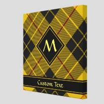 Clan Macleod of Lewis Tartan Canvas Print