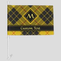 Clan Macleod of Lewis Tartan Car Flag