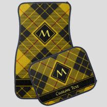 Clan Macleod of Lewis Tartan Car Floor Mat