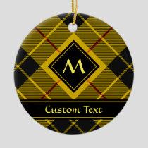 Clan Macleod of Lewis Tartan Ceramic Ornament