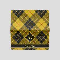 Clan Macleod of Lewis Tartan Checkbook Cover