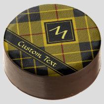 Clan Macleod of Lewis Tartan Chocolate Covered Oreo