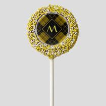 Clan Macleod of Lewis Tartan Chocolate Covered Oreo Pop