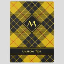 Clan Macleod of Lewis Tartan Clipboard
