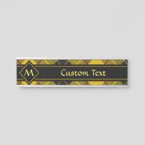 Clan Macleod of Lewis Tartan Door Sign