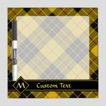 Clan Macleod of Lewis Tartan Dry Erase Board