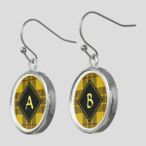 Clan Macleod of Lewis Tartan Earrings