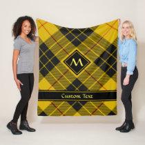 Clan Macleod of Lewis Tartan Fleece Blanket