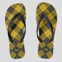 Clan Macleod of Lewis Tartan Flip Flops