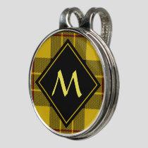 Clan Macleod of Lewis Tartan Golf Hat Clip