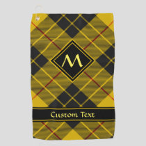 Clan Macleod of Lewis Tartan Golf Towel