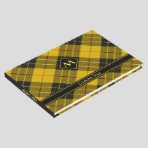 Clan Macleod of Lewis Tartan Guest Book