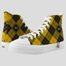 Clan Macleod of Lewis Tartan High-Top Sneakers