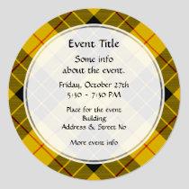 Clan Macleod of Lewis Tartan Invitation