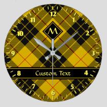 Clan Macleod of Lewis Tartan Large Clock
