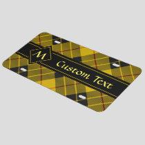 Clan Macleod of Lewis Tartan License Plate