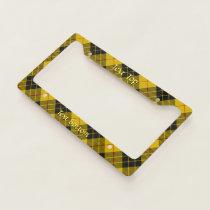Clan Macleod of Lewis Tartan License Plate Frame