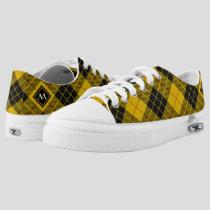 Clan Macleod of Lewis Tartan Low-Top Sneakers