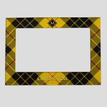 Clan Macleod of Lewis Tartan Magnetic Frame