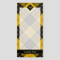 Clan Macleod of Lewis Tartan Magnetic Notepad
