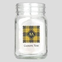 Clan Macleod of Lewis Tartan Mason Jar