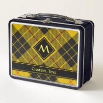 Clan Macleod of Lewis Tartan Metal Lunch Box