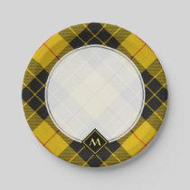 Clan Macleod of Lewis Tartan Paper Plate