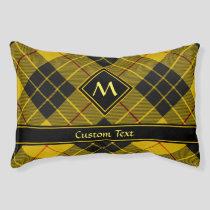 Clan Macleod of Lewis Tartan Pet Bed