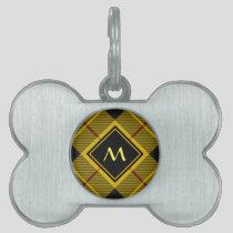 Clan Macleod of Lewis Tartan Pet ID Tag