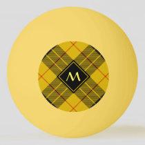 Clan Macleod of Lewis Tartan Ping Pong Ball