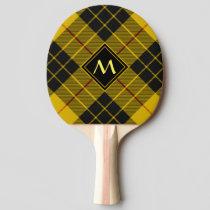 Clan Macleod of Lewis Tartan Ping Pong Paddle