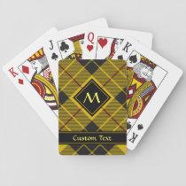 Clan Macleod of Lewis Tartan Playing Cards