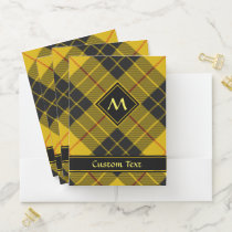 Clan Macleod of Lewis Tartan Pocket Folder