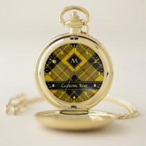 Clan Macleod of Lewis Tartan Pocket Watch