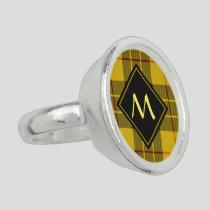 Clan Macleod of Lewis Tartan Ring