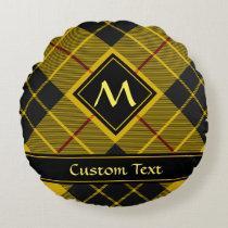 Clan Macleod of Lewis Tartan Round Pillow
