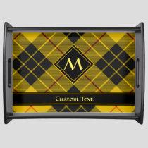 Clan Macleod of Lewis Tartan Serving Tray