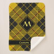 Clan Macleod of Lewis Tartan Sherpa Blanket