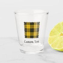 Clan Macleod of Lewis Tartan Shot Glass