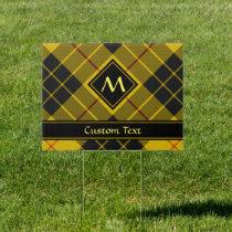 Clan Macleod of Lewis Tartan Sign