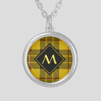 Clan Macleod of Lewis Tartan Silver Plated Necklace